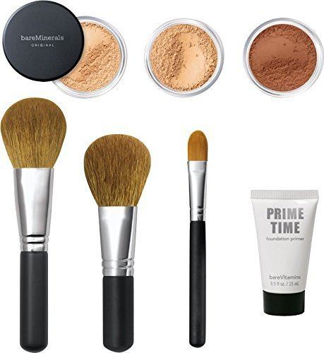 bareMinerals Get Started Complexion Kit - With Click, Lock, Go Light