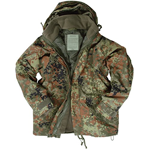 Mil-Tec ECWCS Jacket with Fleece Flecktarn size L