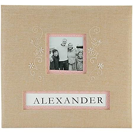 Kcompany K And Company Post Bound Album 12 By 12 Inch Burlap