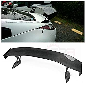 De fibra de carbono para Nissan 350Z Z33 Ings estilo trasera tronco GT Alerón Ala: Amazon.es: Coche y moto