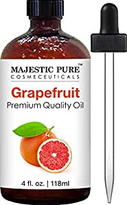 Majestic Pure Grapefruit Oil, Premium Quality, Therapeutic Grade, 4 fl oz