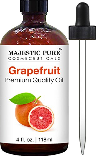 Majestic Pure Grapefruit Oil, Premium Quality, 4 fl oz (Oil Organic Grapefruit Essential Pure)