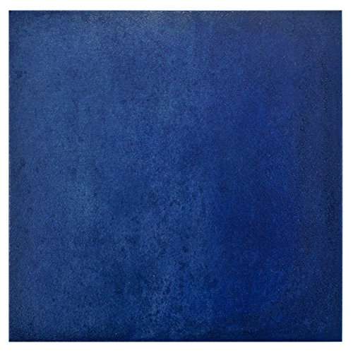 SomerTile S1FNU14SBB Blue FNU14SBB Simbole Porcelain Floor and Wall Tile, 14.125