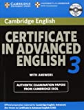 Certificate in Advanced English, Cambridge ESOL, 0521739160