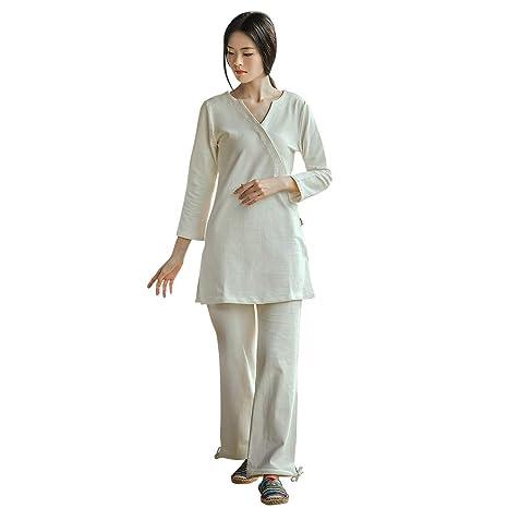 Conjunto de Ropa de meditación Zen Uniforme de Tai Chi Ropa ...