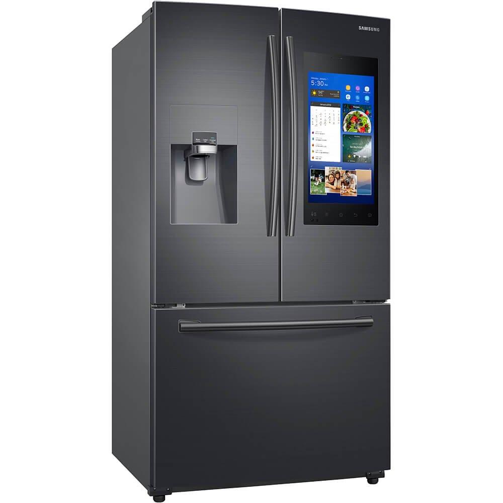 Samsung RF265BEAESG refrigerador de puerta francesa, 24 pies ...