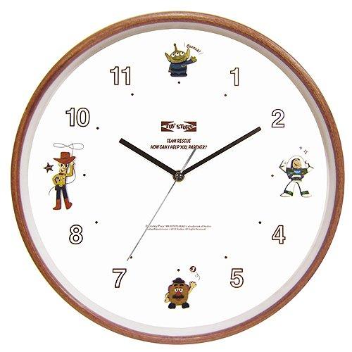 ディズニー ウッドパーツクロック 壁掛け時計 ミッキー&ミニー CLOCK63605 B073VJPH82 ミッキー&ミニー