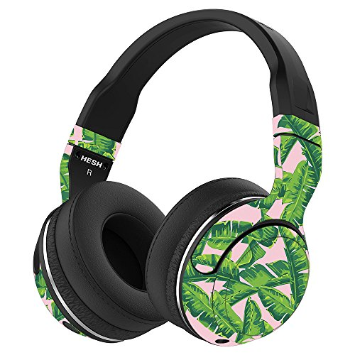 MightySkins Skin Compatible with Skullcandy Hesh 2 Wireless Headphones - Jungle Glam | Protective, Durable, and Unique Vinyl wrap Cover | Easy to Apply, Remove, and Change Styles | Made in The USA