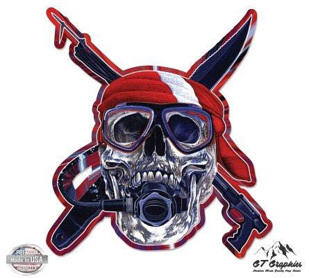 Mug Scuba Accessories - Scuba Skull - 5