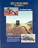 1985 Ozzies A5 Pipeline Padder Crawler Loader Brochure