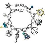Brighton Blue Water Charm Bracelet