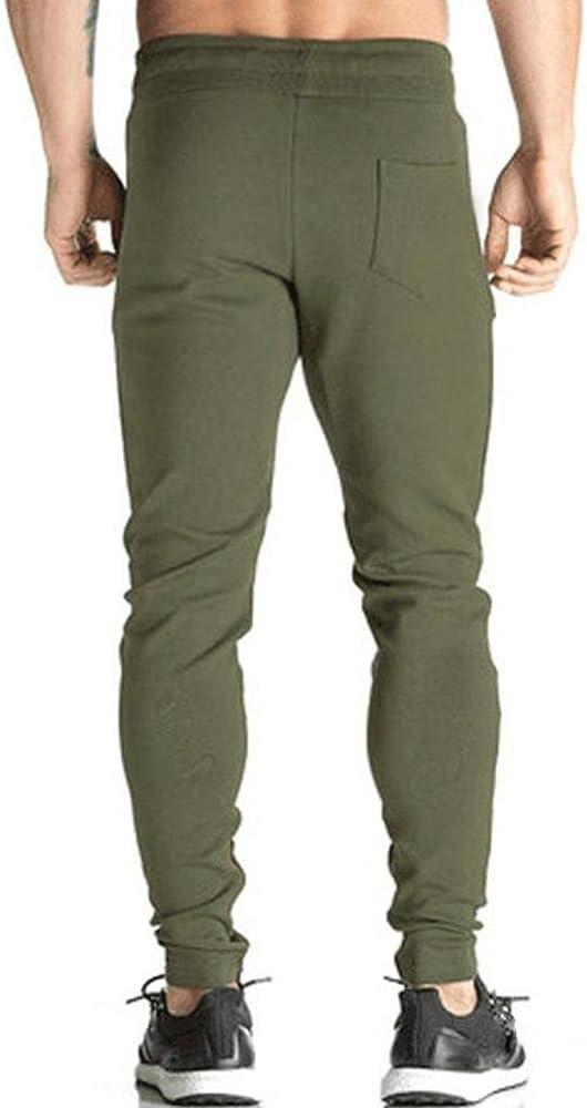 Cinnamou-Hombre Pantalón Moda Pantalones de Chándal de Hombre ...