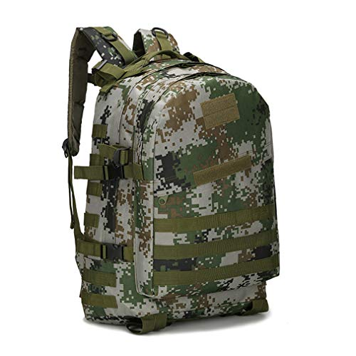 40L Bag School Camouflage Backpack 3P camouflage Men's Waterproof jungle Ff4TqFr