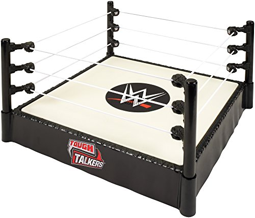 WWE Boys Tough Talkers Ring Playset (Wwe Rock Best Fight)