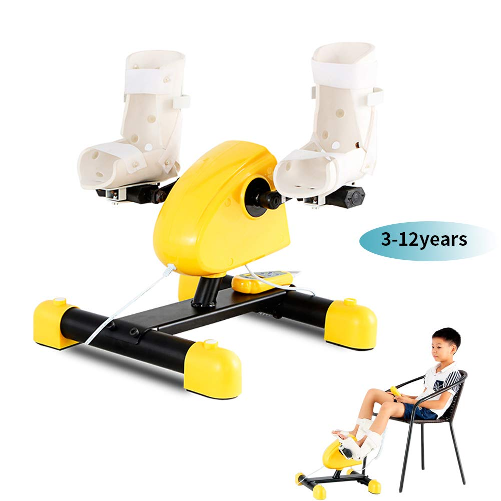 3-12 Years Child Electronic Physical Therapy Bike Upper Lower Limbs Rehabilitation Training Arm Legs Exercise for Pediatric Paralysis Polio Fracture Rehabilitation