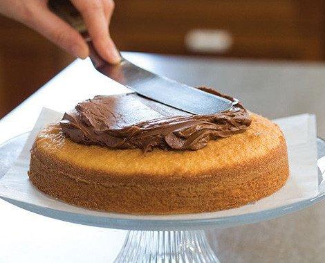 Kertou - Juego de cuchillos de paleta en ángulo (3 piezas, acero inoxidable, espátula para decoración de tartas, pasteles y magdalenas) negro: Amazon.es: ...