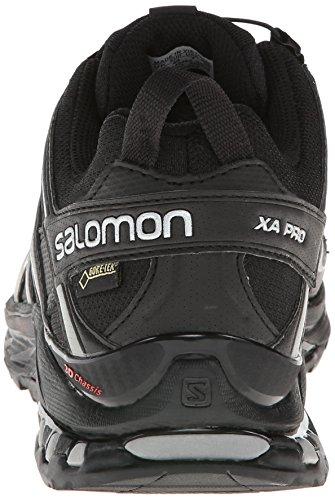 Salomon Xa Gtx Pr 3d Men Trekking & Vandresko Halv-sort (sort / Sort / Tin) GJzlS4eCy