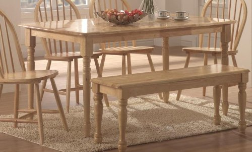 Benson Rectangle Dining Table Natural