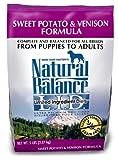 Natural Balance Sweet Potato and Venison Formula Dog Food - 5-Pound Bag