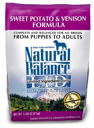 sweet potato venison formula dog