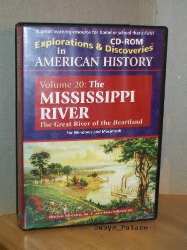 Explorations & Discoveries in American History Vol. 20 The Mississippi River CD-ROM