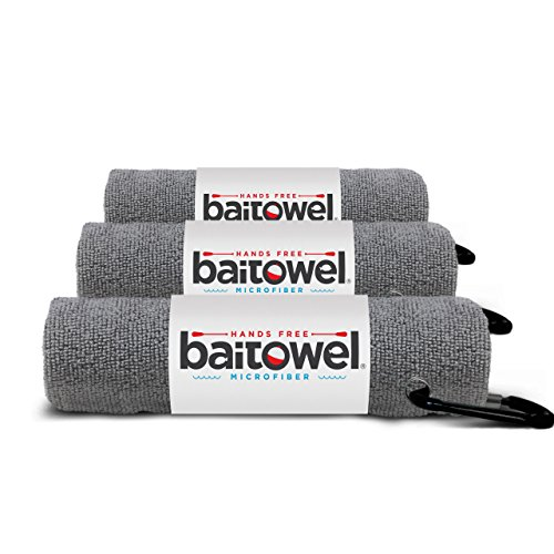 Microfiber Bait Towel (Overcast Gray) 3 Pack