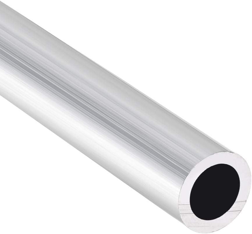 Sourcing map 6063 Tube rond en aluminium sans soudure Longueur 300 mm Diam/ètre ext/érieur 12-13 mm