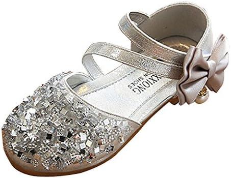 어린이 복장 신발 샌들 아이 신발 가죽 여 아 정장 구두 정장 구두 유아 베이비 걸즈 공주 신발 파티 반짝이 스 팽 글 나비 매듭 피아노 발표회 사이틀 결혼식 출산 축 하 Sakuranbo / Kids Formal Shoes Sandals Children`s Shoes Girls` Dresses S...