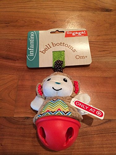 Infantino Bell Bottoms Go Gaga Collection Car Seat Toy