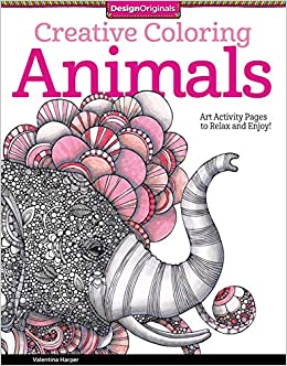 Amazon.com: Creative Coloring Animals: Art Activity Pages to Relax ...