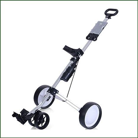 Biddtle Portátil Push Cart Carro De Golf Marco Aleación Aluminio ...