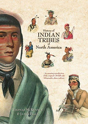 History Of Indian Tribes Of North America - Volume 2 only: McKenney and Hall