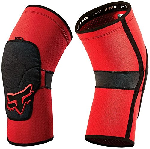 Fox Racing Launch Enduro Adult Knee/Shin Guard MX Motorcycle Body Armor - Red/X-Large (Best Mx Knee Pads)