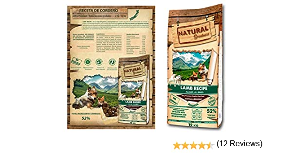 Natural Greatness Lamb Recipe Alimento Seco Completo para Perros ...