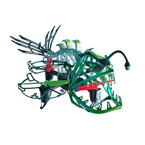 Drone Force Angler Attack-2.4Ghz Illuminated Indoor/Outdoor Drone Helicopter Toy -