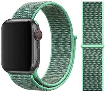 For Apple watch band Green color for 38, 40 size.