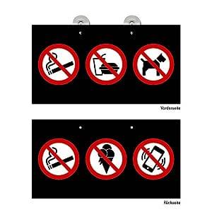 Puerta Cartel prohibido perros deben dejarse etc. Cartel ...