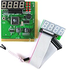 PCI ISA 4-Digit PC analyzer.  Standard PCI & ISA interface for easy access to your desktop PC.  4-Digit display. Frontal 2 digit for current error code & back 2 digit for previous error code.  POST (Power On Self Test) card displays e...