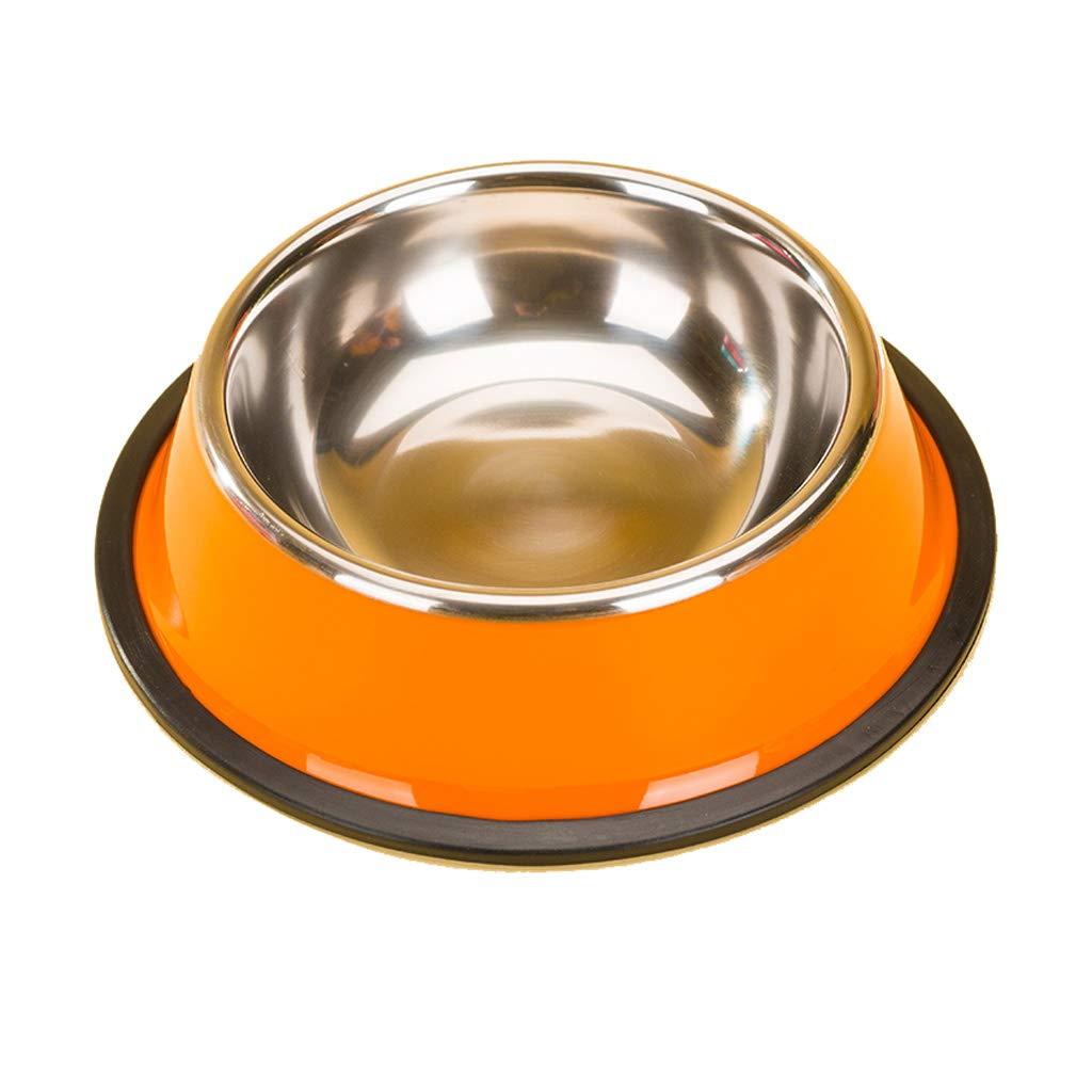 M 17.94.5cm Creative Fashion Drinking Water Bowl Cat Bowl Practical Pet Supplies Simple Dog Bowl Cat Bowl (Size   M 17.9  4.5cm)
