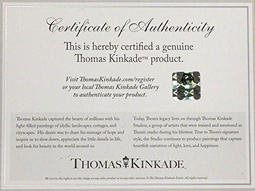 Thomas Kinkade Twilight Cottage 14 x 14 Gallery Wrapped Canvas