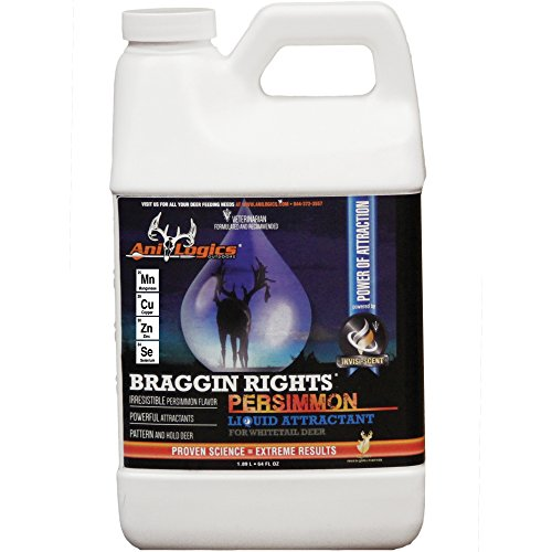 Ani-Logics Outdoors Liquid Braggin Rights Persimmon Attractant, 1/2 Gal - 8 PACK by Ani-Logics Outdoors (Image #1)
