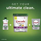 Cascade Platinum Plus Dishwasher Pods, ActionPacs