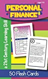 Personal Finance for Ages 11-12 Flash Cards