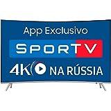 Smart TV LED 55'' Samsung UN55MU7500 Tela Curva 4K Ultra HD, HDR, Wi-Fi, USB, HDMI