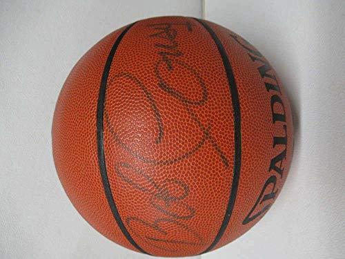 - Signed Bob Cousy Basketball - Full Size Spalding Coa Hof Pc988 - JSA Certified - Autographed Basketballs