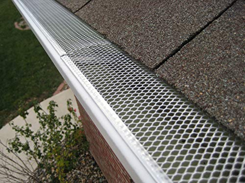 5'' Small Hole Speed Screen Gutter Guard/Gutter Protection/Leaf Protection (200ft/box) by Lynch Aluminum (Image #5)