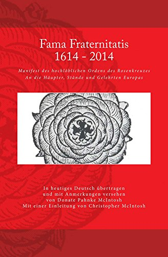 Fama Fraternitatis (deutsch) (German Edition) - Kindle