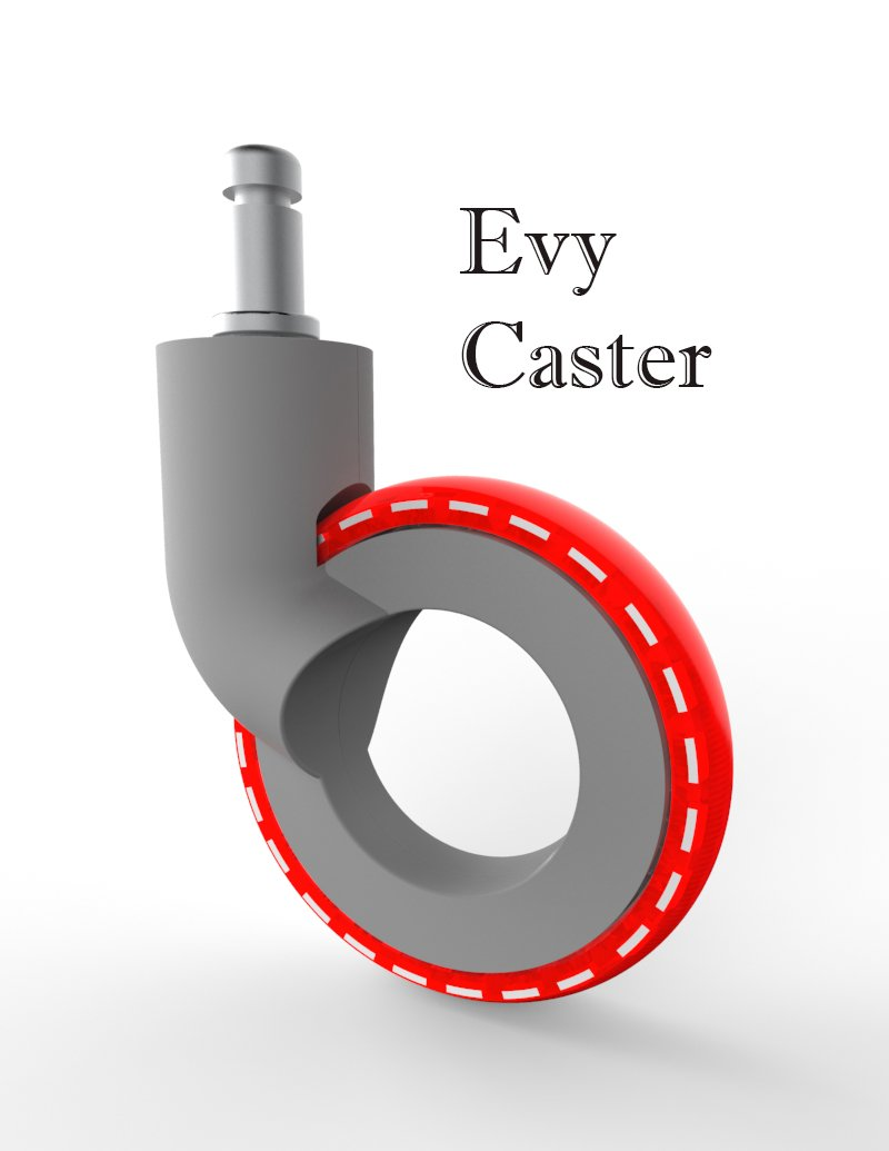 Gray/Red Friction Ring Stem