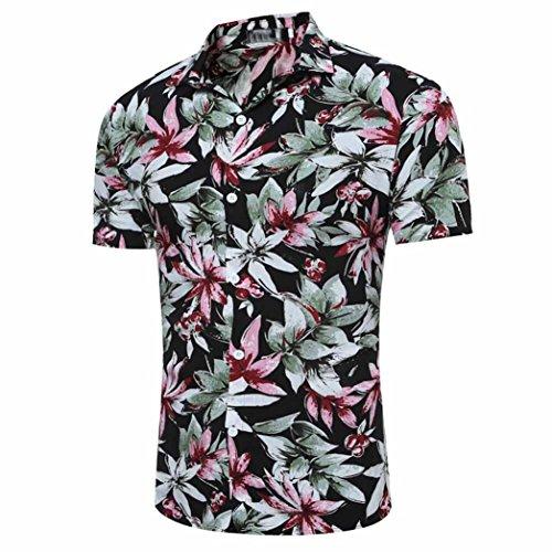 Cotton Aimee7 Casual Top Summer stampata nero Big africana uomo Clearance corta Maglietta da Maglietta Abbigliamento da uomo personalità Manica wqWzv4wr