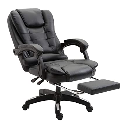 Amazon.com: Chairs Sofas Black Home seat Office Chair Boss Chairs ...